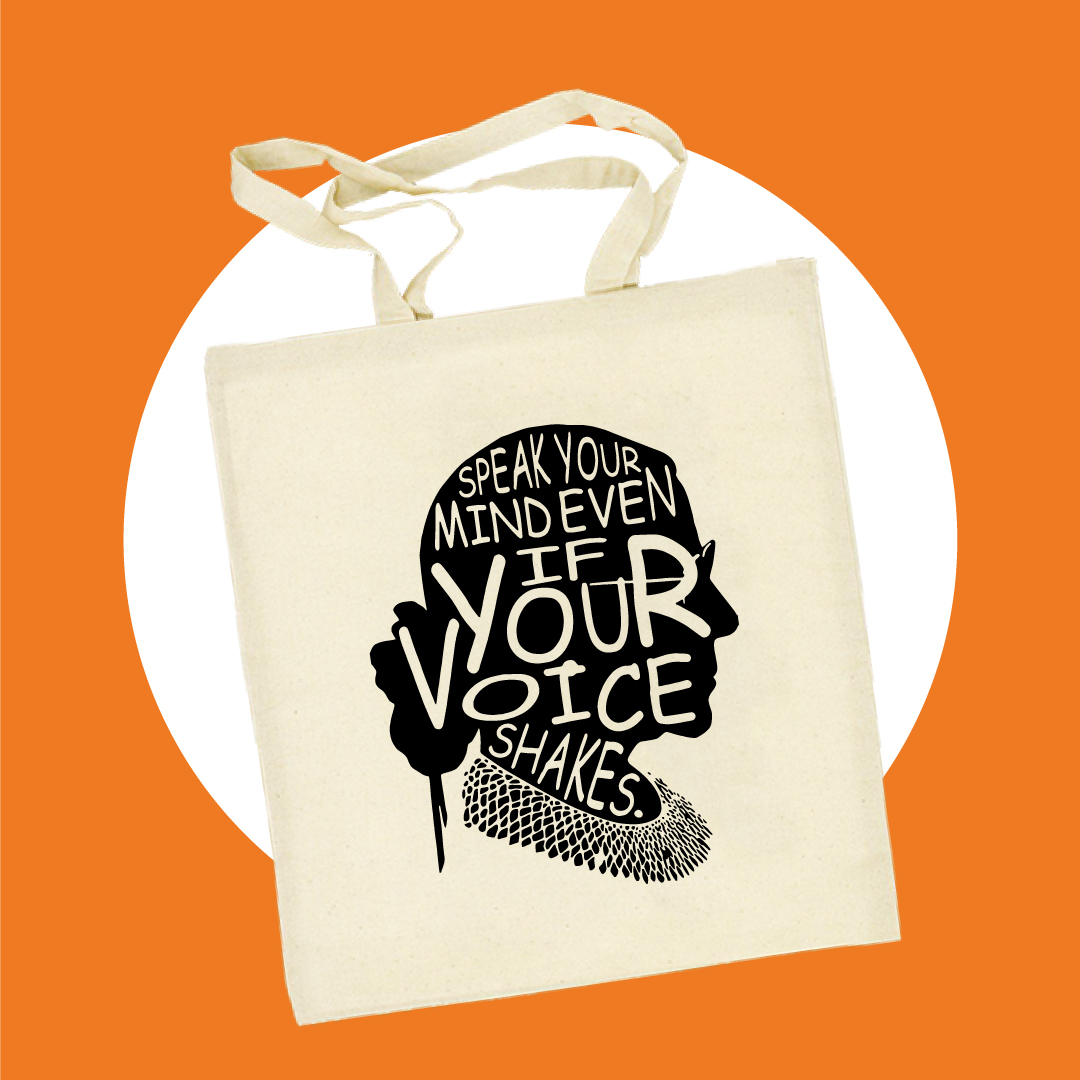 Speak your Mind Canvas Bag